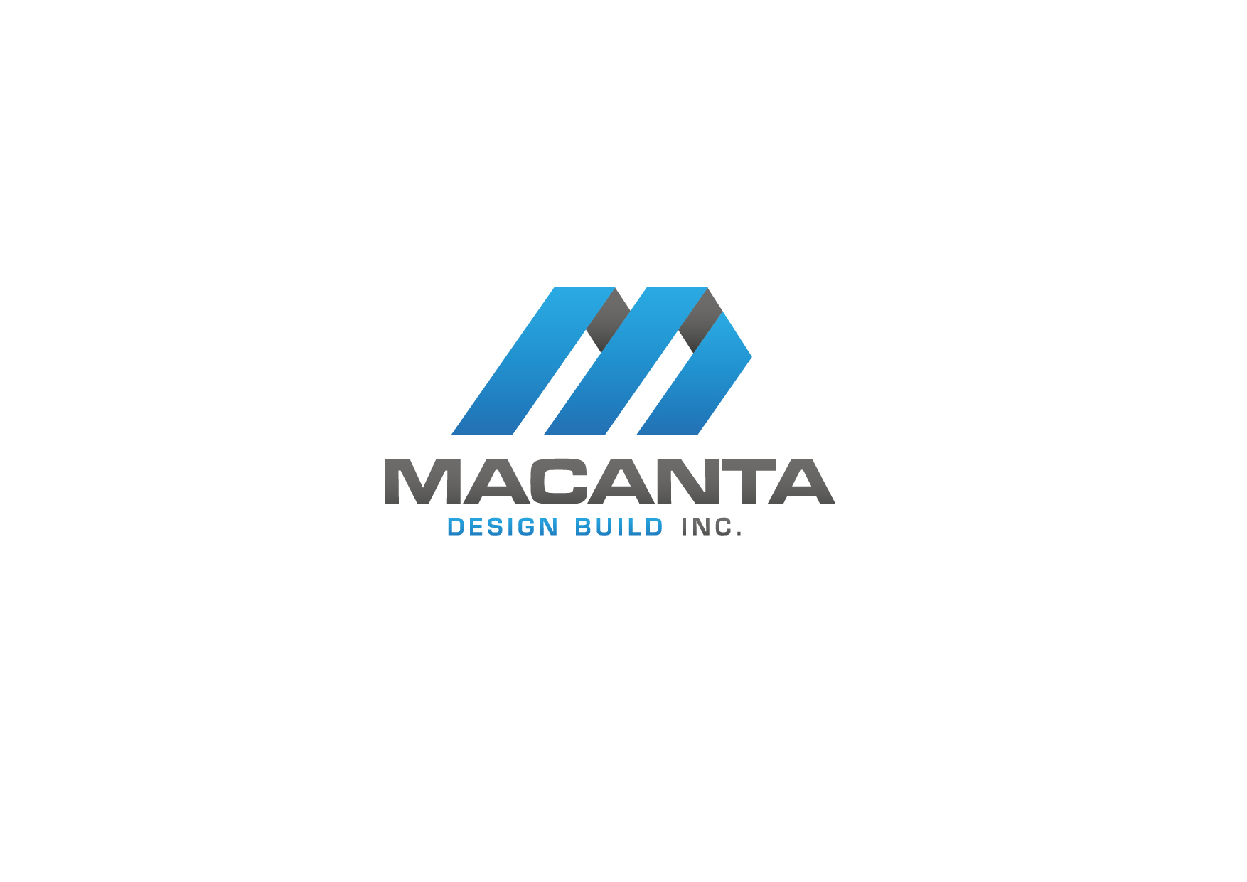Logo Design by Cutris Lotter - Entry No. 86 in the Logo Design Contest Captivating Logo Design for Macanta Design Build Inc.