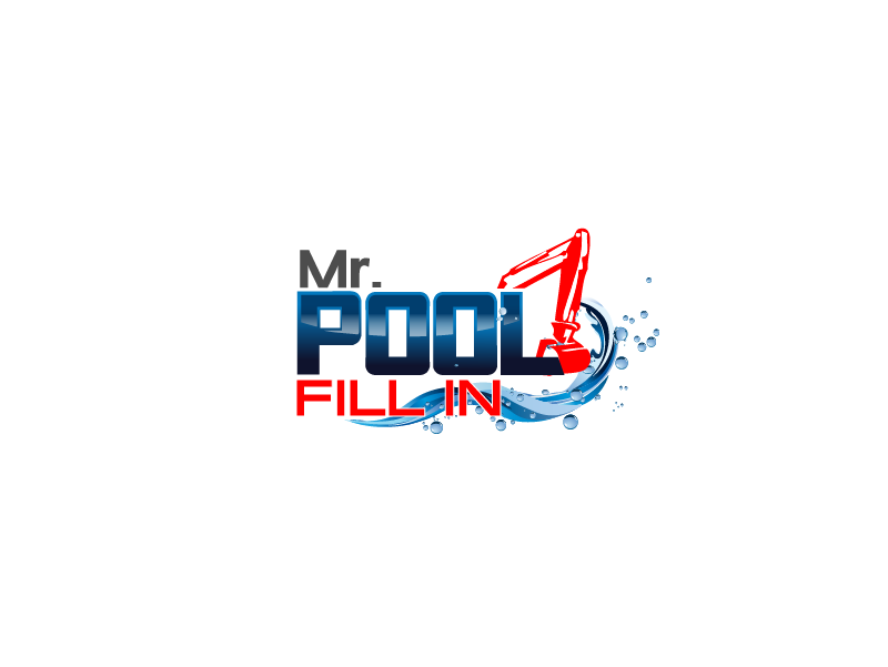 Logo Design by Private User - Entry No. 8 in the Logo Design Contest Unique Logo Design Wanted for Mr. Pool Fill In.