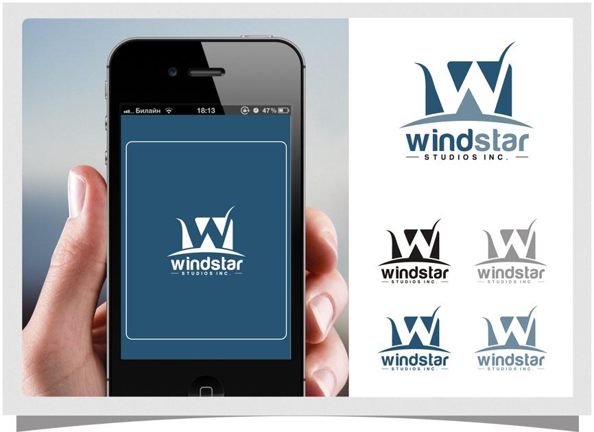 Logo Design by RasYa Muhammad Athaya - Entry No. 40 in the Logo Design Contest Unique Logo Design Wanted for Windstar Studios Inc..
