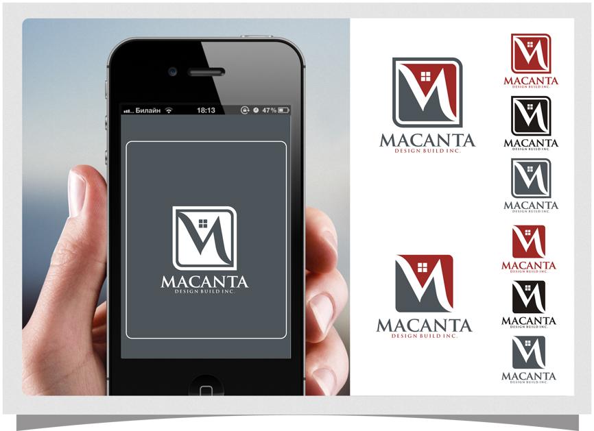 Logo Design by RasYa Muhammad Athaya - Entry No. 107 in the Logo Design Contest Captivating Logo Design for Macanta Design Build Inc.
