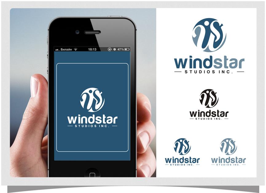 Logo Design by RasYa Muhammad Athaya - Entry No. 41 in the Logo Design Contest Unique Logo Design Wanted for Windstar Studios Inc..