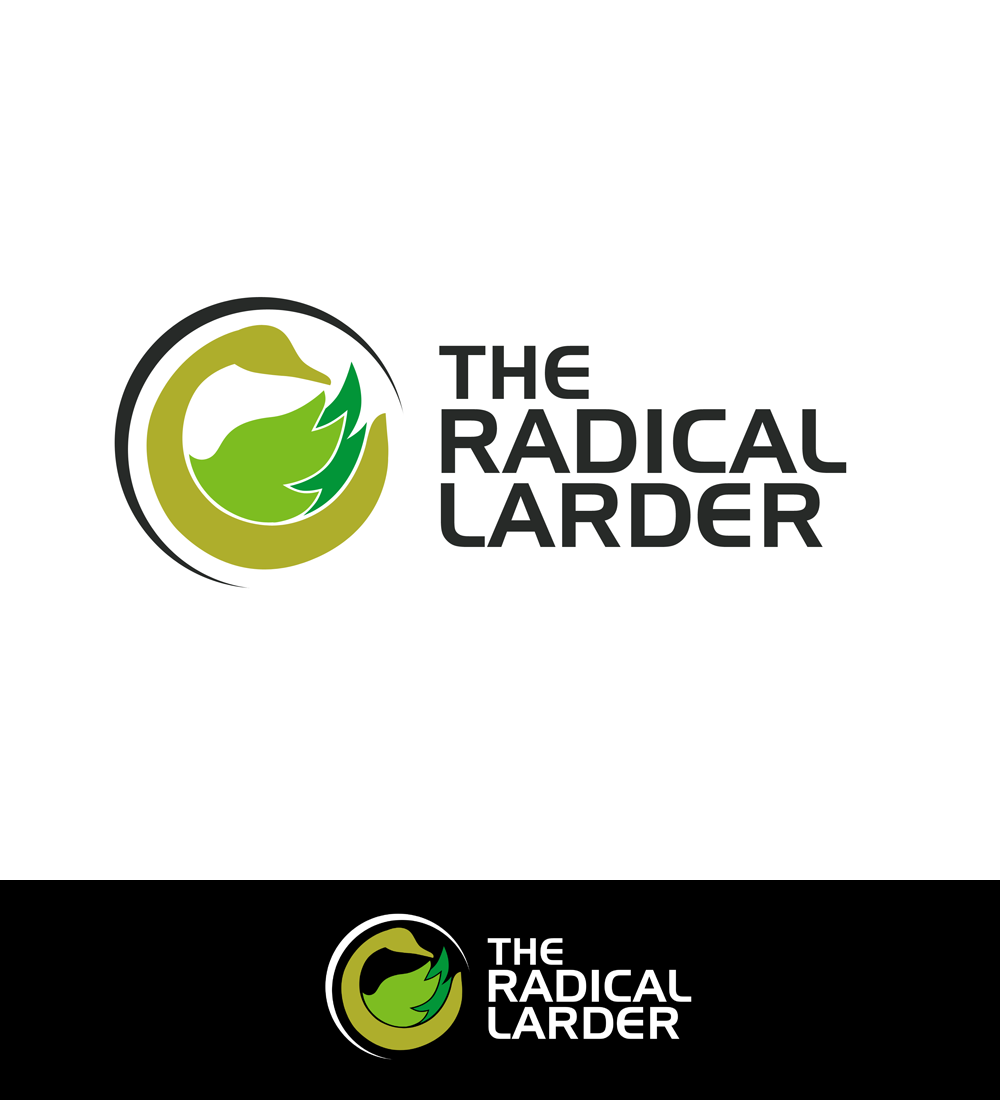 Logo Design by Robert Turla - Entry No. 37 in the Logo Design Contest Captivating Logo Design for The Radical Larder.