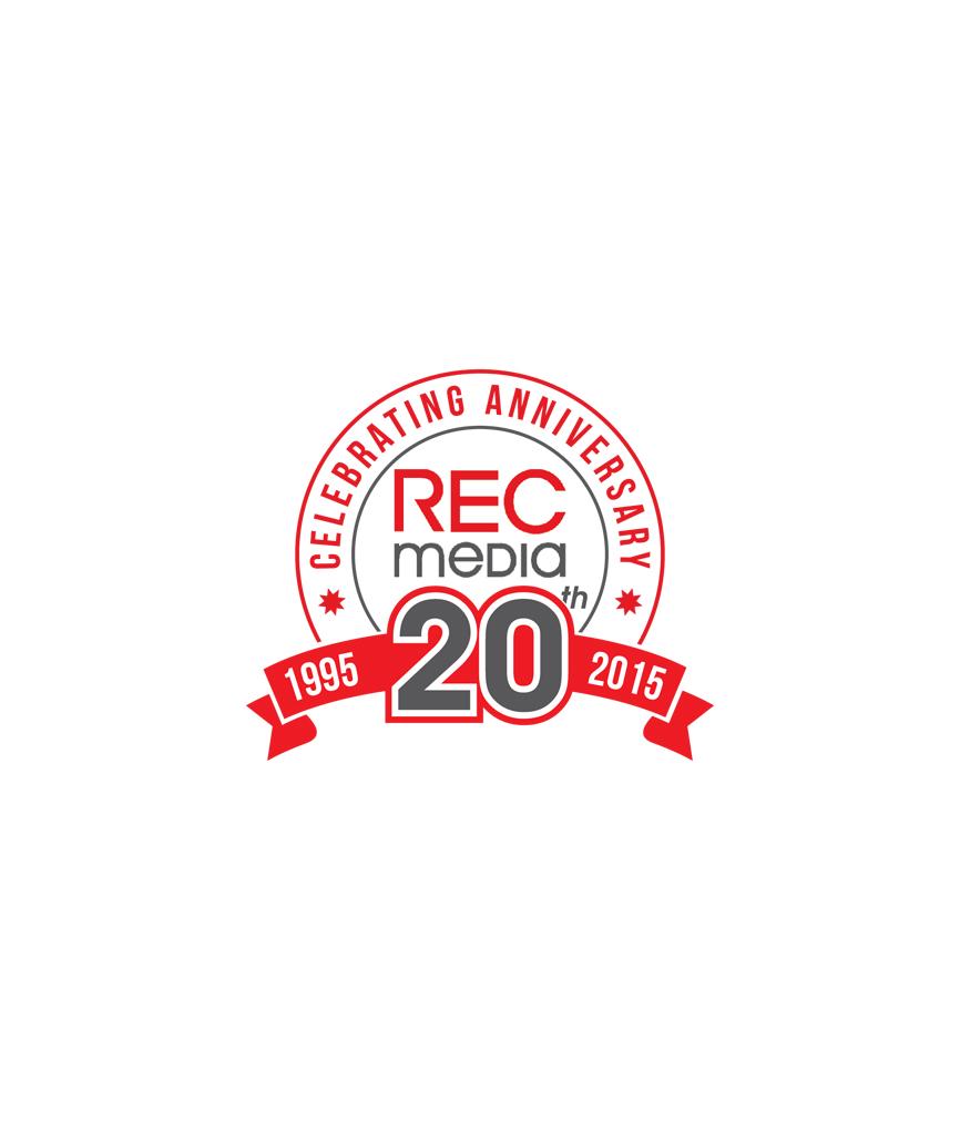 Logo Design by RasYa Muhammad Athaya - Entry No. 20 in the Logo Design Contest REC Media Logo Design.