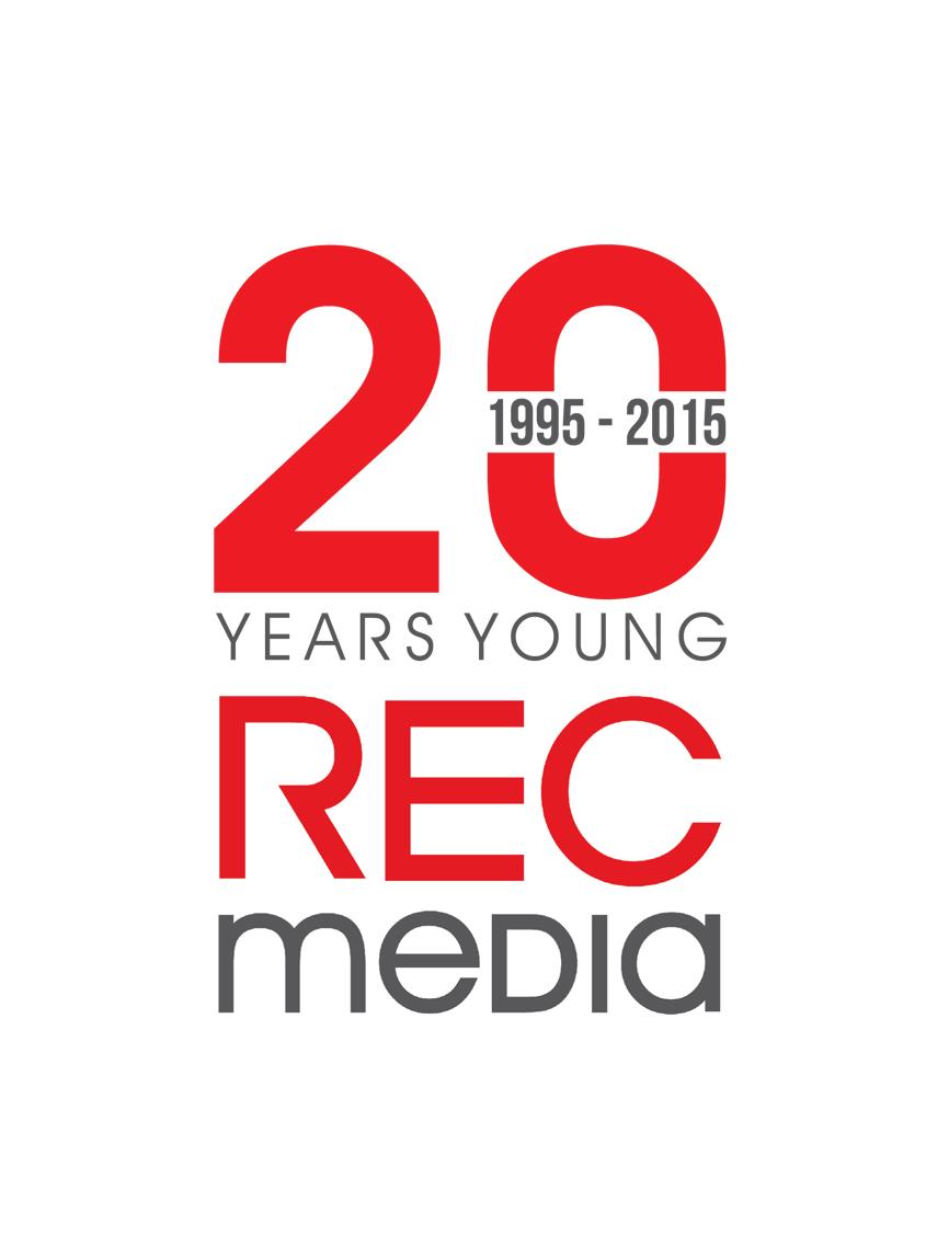 Logo Design by RasYa Muhammad Athaya - Entry No. 22 in the Logo Design Contest REC Media Logo Design.