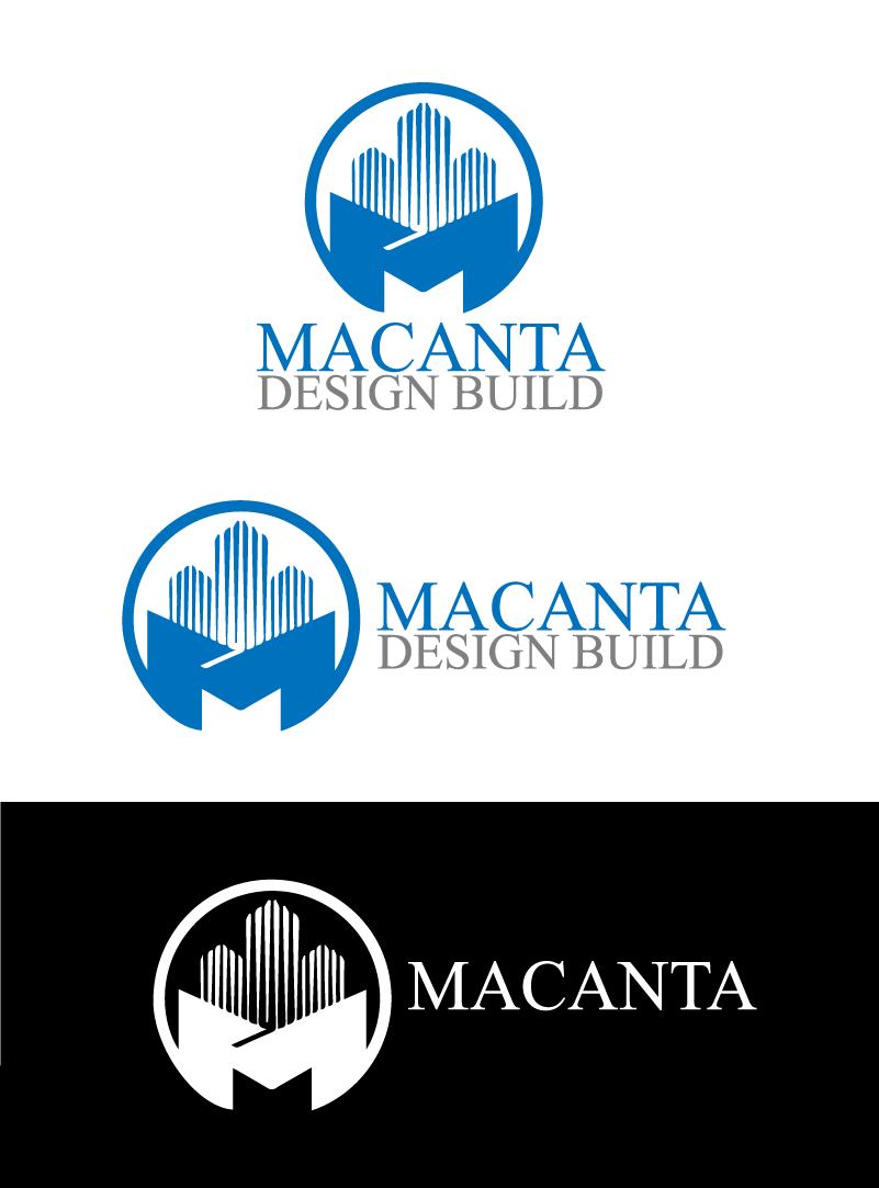 Logo Design by brands_in - Entry No. 139 in the Logo Design Contest Captivating Logo Design for Macanta Design Build Inc.