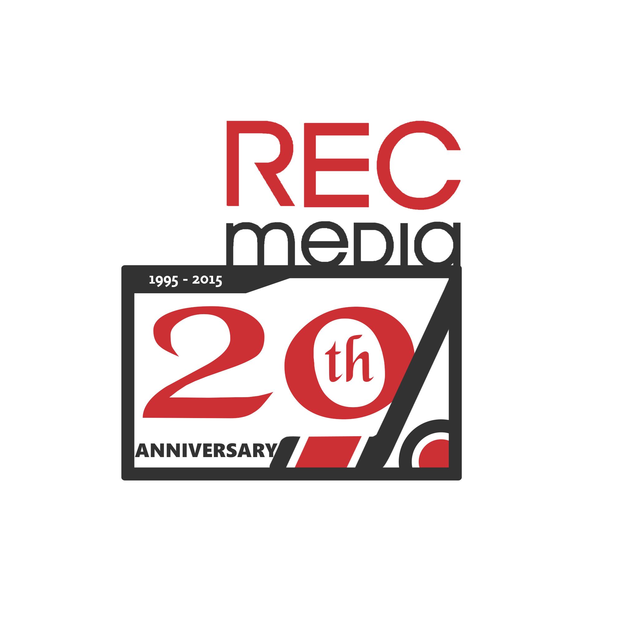 Logo Design by Jessy Pimentera - Entry No. 24 in the Logo Design Contest REC Media Logo Design.