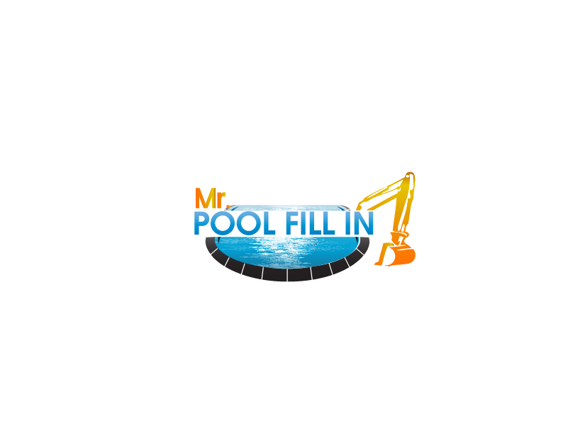 Logo Design by Private User - Entry No. 10 in the Logo Design Contest Unique Logo Design Wanted for Mr. Pool Fill In.