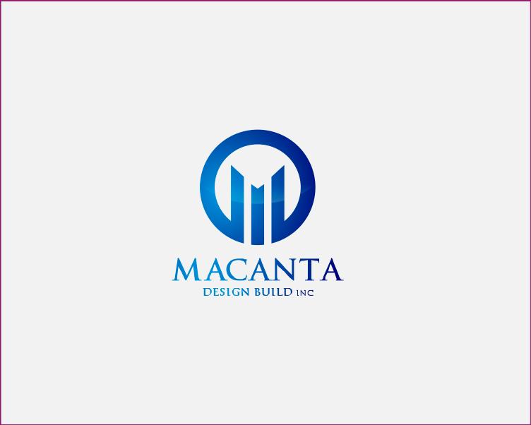 Logo Design by Armada Jamaluddin - Entry No. 149 in the Logo Design Contest Captivating Logo Design for Macanta Design Build Inc.