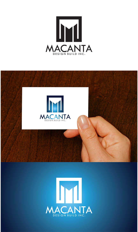 Logo Design by RasYa Muhammad Athaya - Entry No. 151 in the Logo Design Contest Captivating Logo Design for Macanta Design Build Inc.