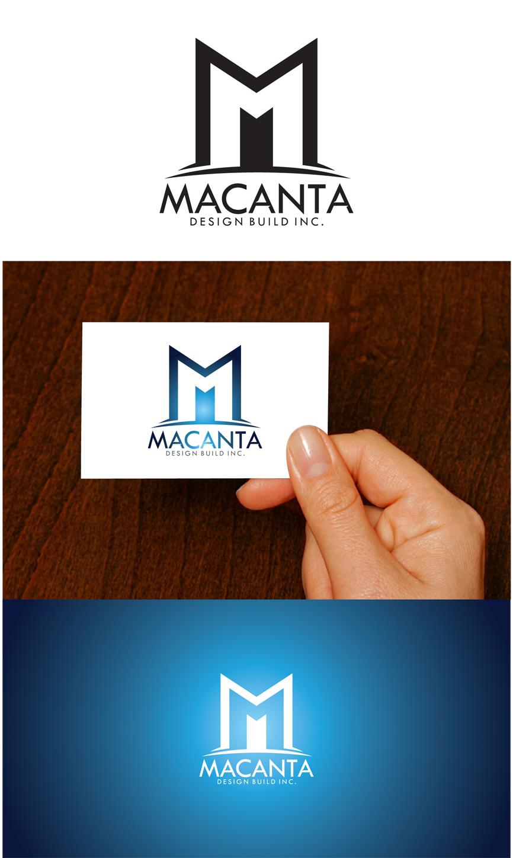 Logo Design by RasYa Muhammad Athaya - Entry No. 154 in the Logo Design Contest Captivating Logo Design for Macanta Design Build Inc.