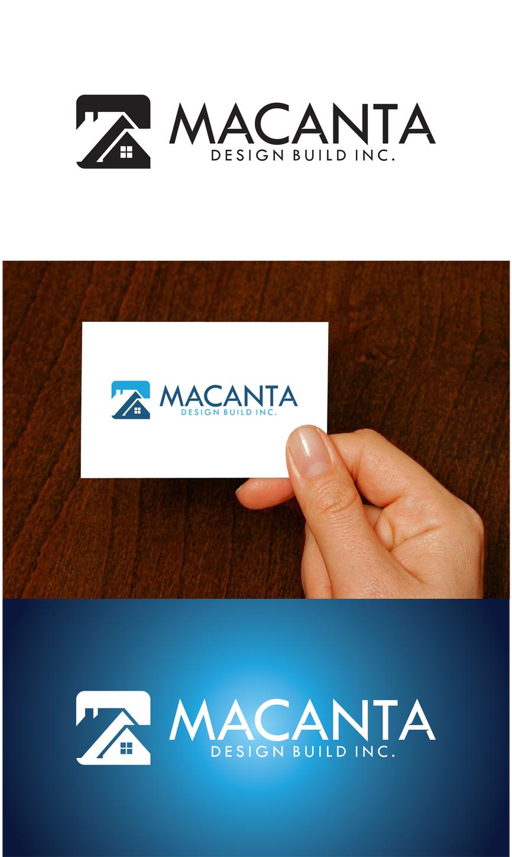 Logo Design by RasYa Muhammad Athaya - Entry No. 157 in the Logo Design Contest Captivating Logo Design for Macanta Design Build Inc.
