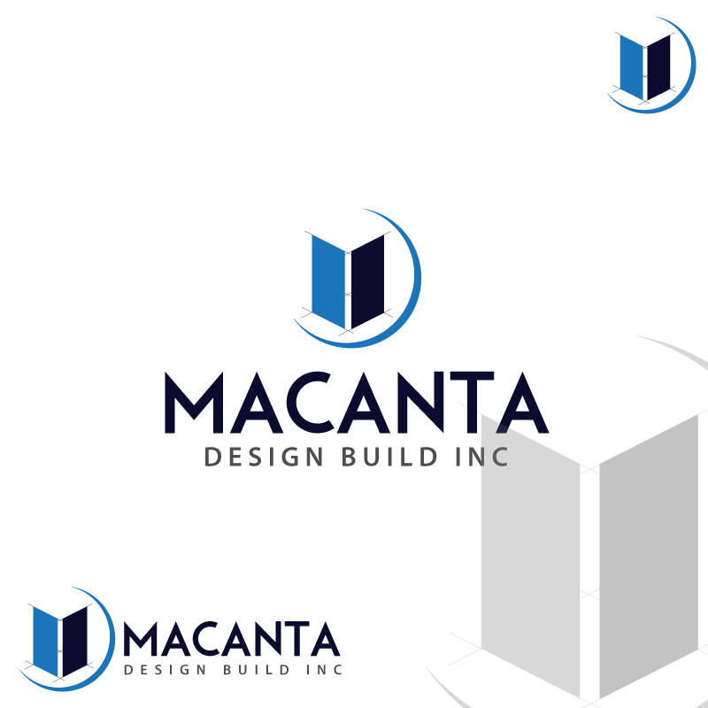 Logo Design by cornelee - Entry No. 161 in the Logo Design Contest Captivating Logo Design for Macanta Design Build Inc.