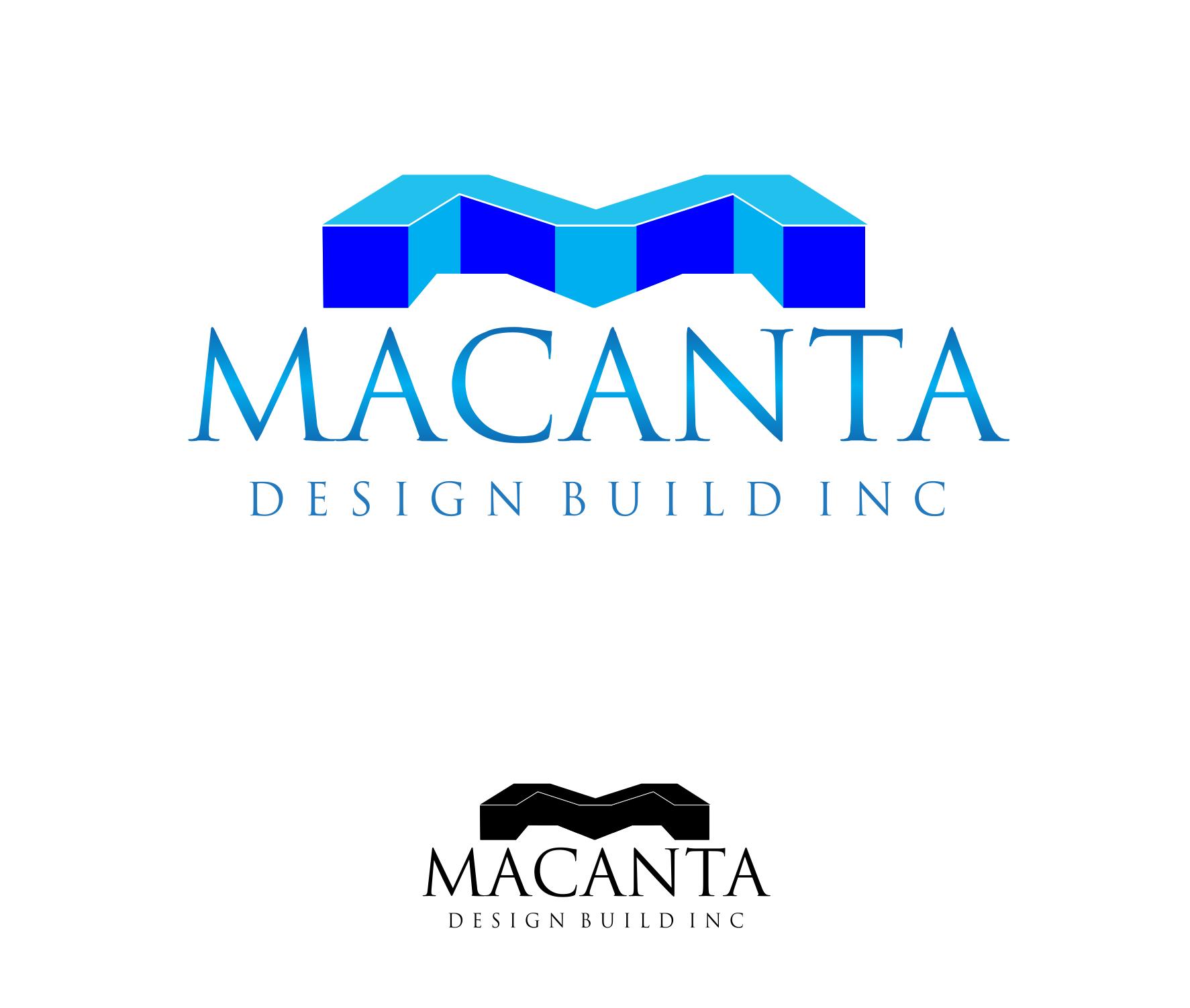 Logo Design by Private User - Entry No. 171 in the Logo Design Contest Captivating Logo Design for Macanta Design Build Inc.