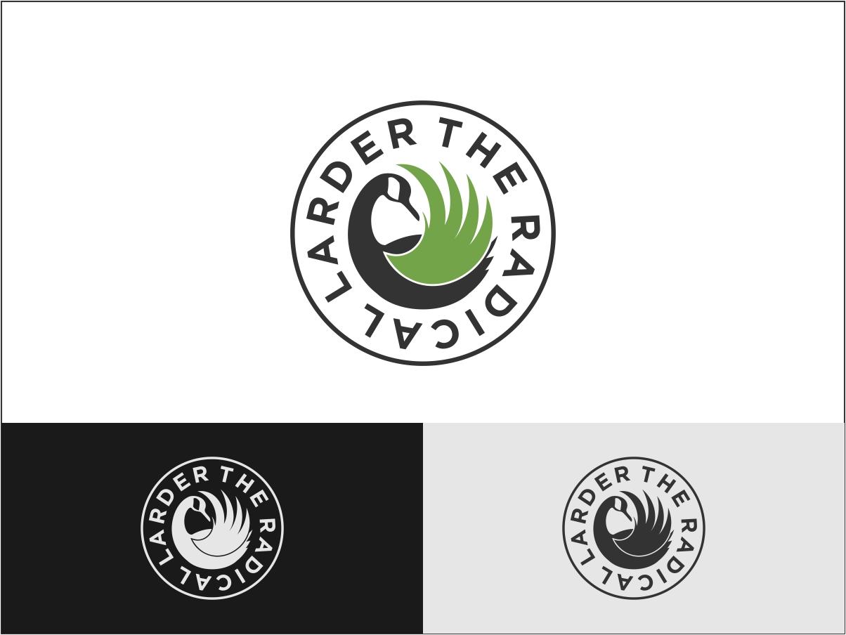 Logo Design by Juan_Kata - Entry No. 46 in the Logo Design Contest Captivating Logo Design for The Radical Larder.