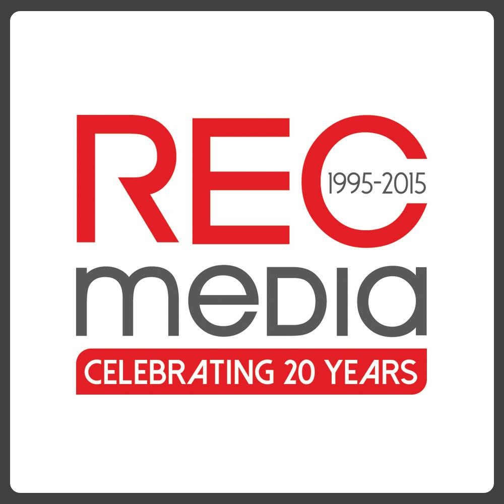 Logo Design by Private User - Entry No. 34 in the Logo Design Contest REC Media Logo Design.