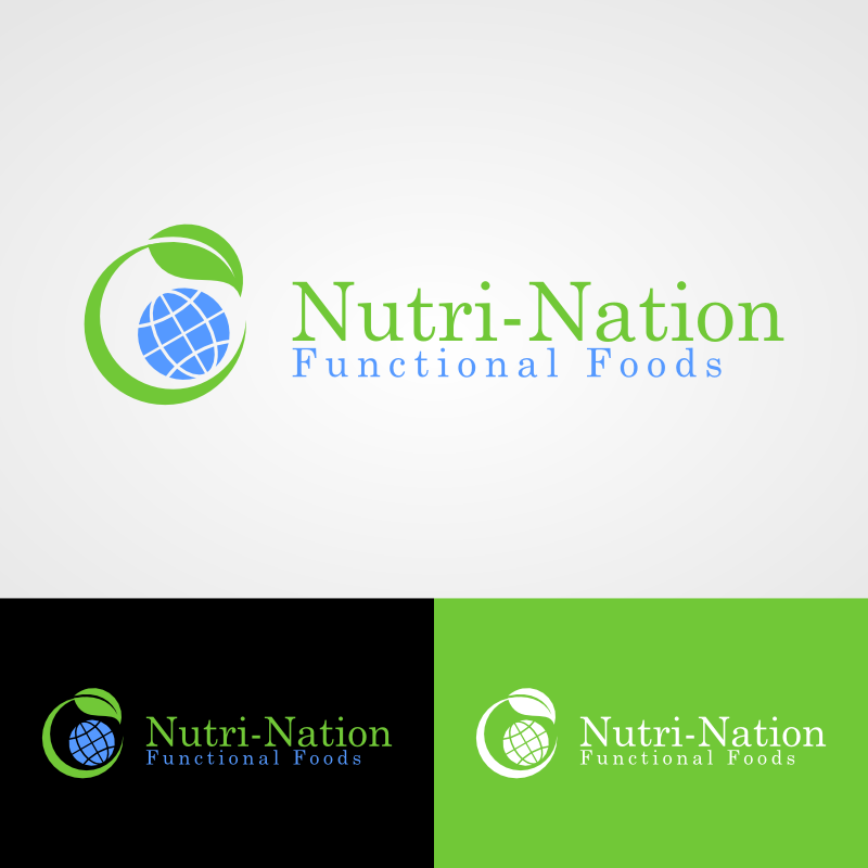 Logo Design by Andrean Susanto - Entry No. 56 in the Logo Design Contest Nutri-Nation Functional Foods Logo.
