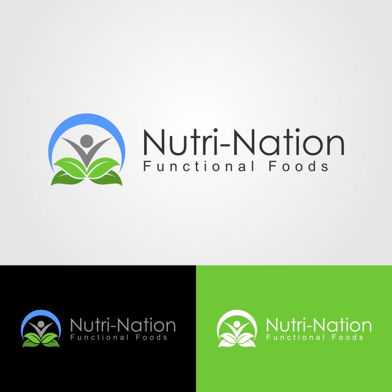 Logo Design by Andrean Susanto - Entry No. 57 in the Logo Design Contest Nutri-Nation Functional Foods Logo.