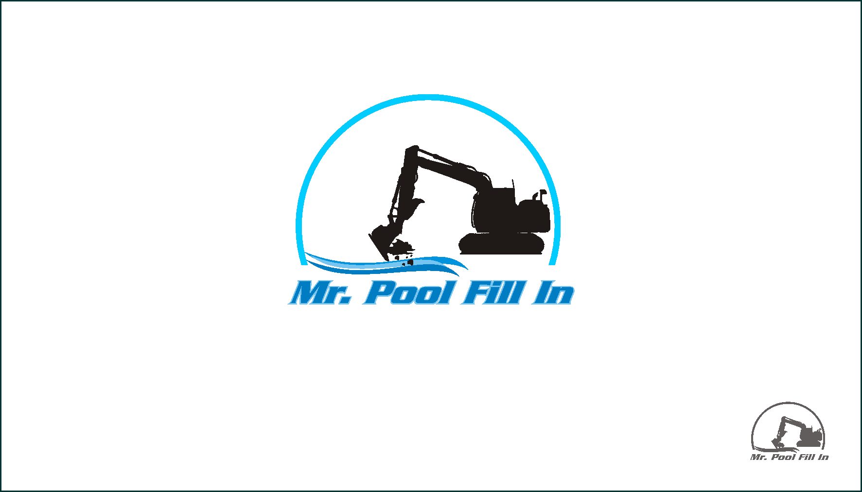 Logo Design by Private User - Entry No. 26 in the Logo Design Contest Unique Logo Design Wanted for Mr. Pool Fill In.