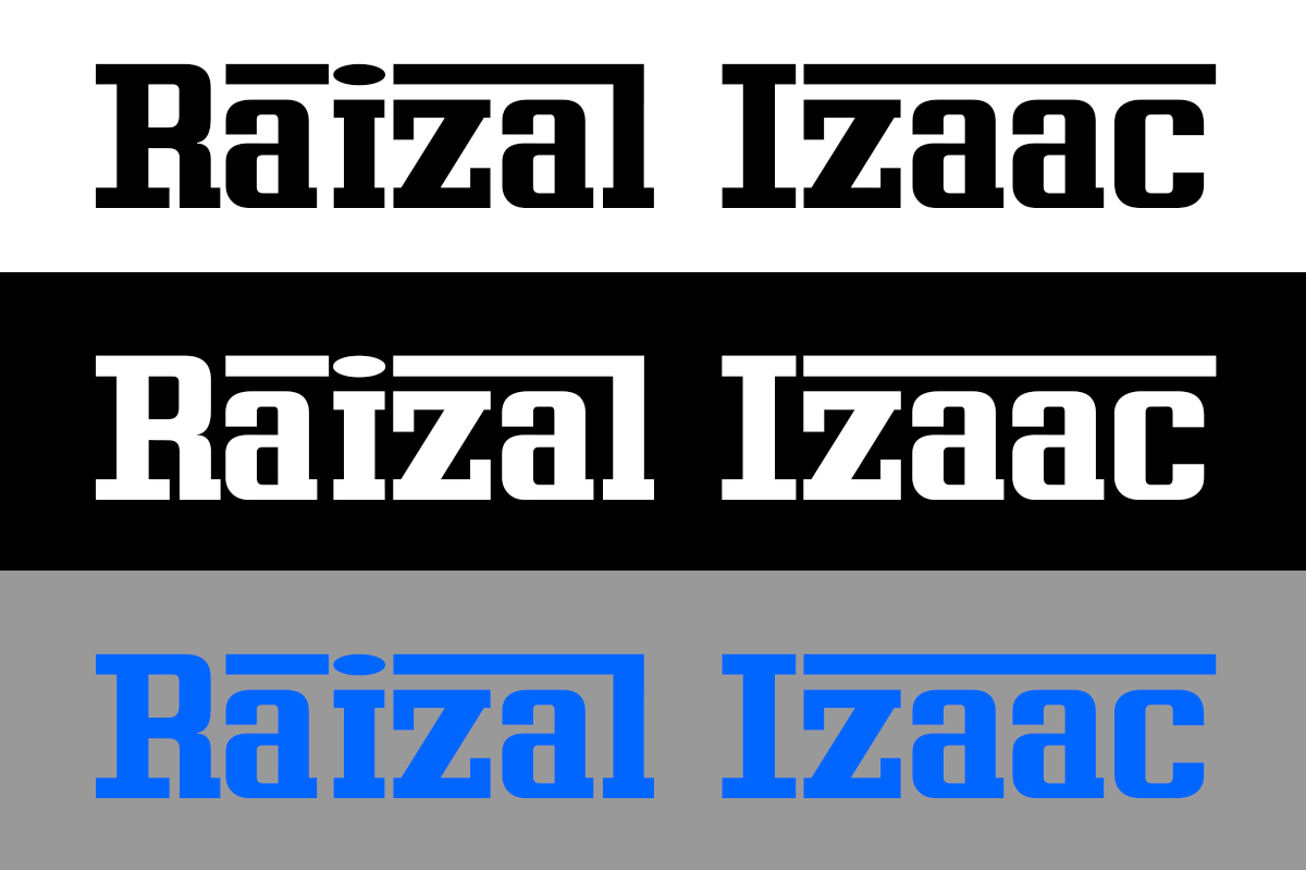 Logo Design by renren - Entry No. 16 in the Logo Design Contest Creative Logo Design for Raizal Izaac.