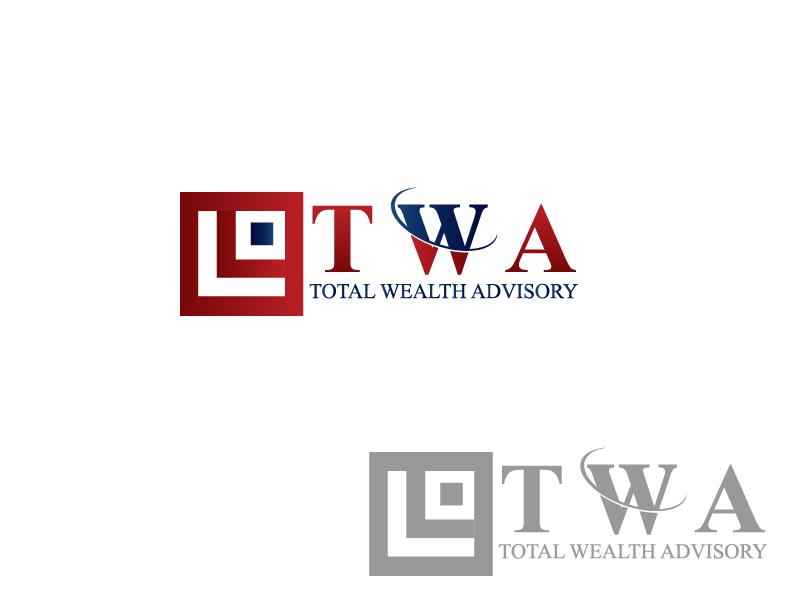 Logo Design by Private User - Entry No. 2 in the Logo Design Contest Imaginative Logo Design for Total Wealth Advisory (TW Advisory).