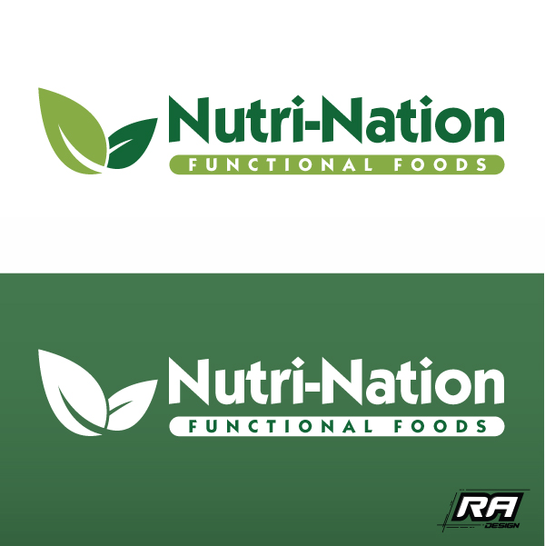 Logo Design by RA-Design - Entry No. 59 in the Logo Design Contest Nutri-Nation Functional Foods Logo.