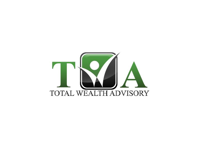 Logo Design by brands_in - Entry No. 4 in the Logo Design Contest Imaginative Logo Design for Total Wealth Advisory (TW Advisory).
