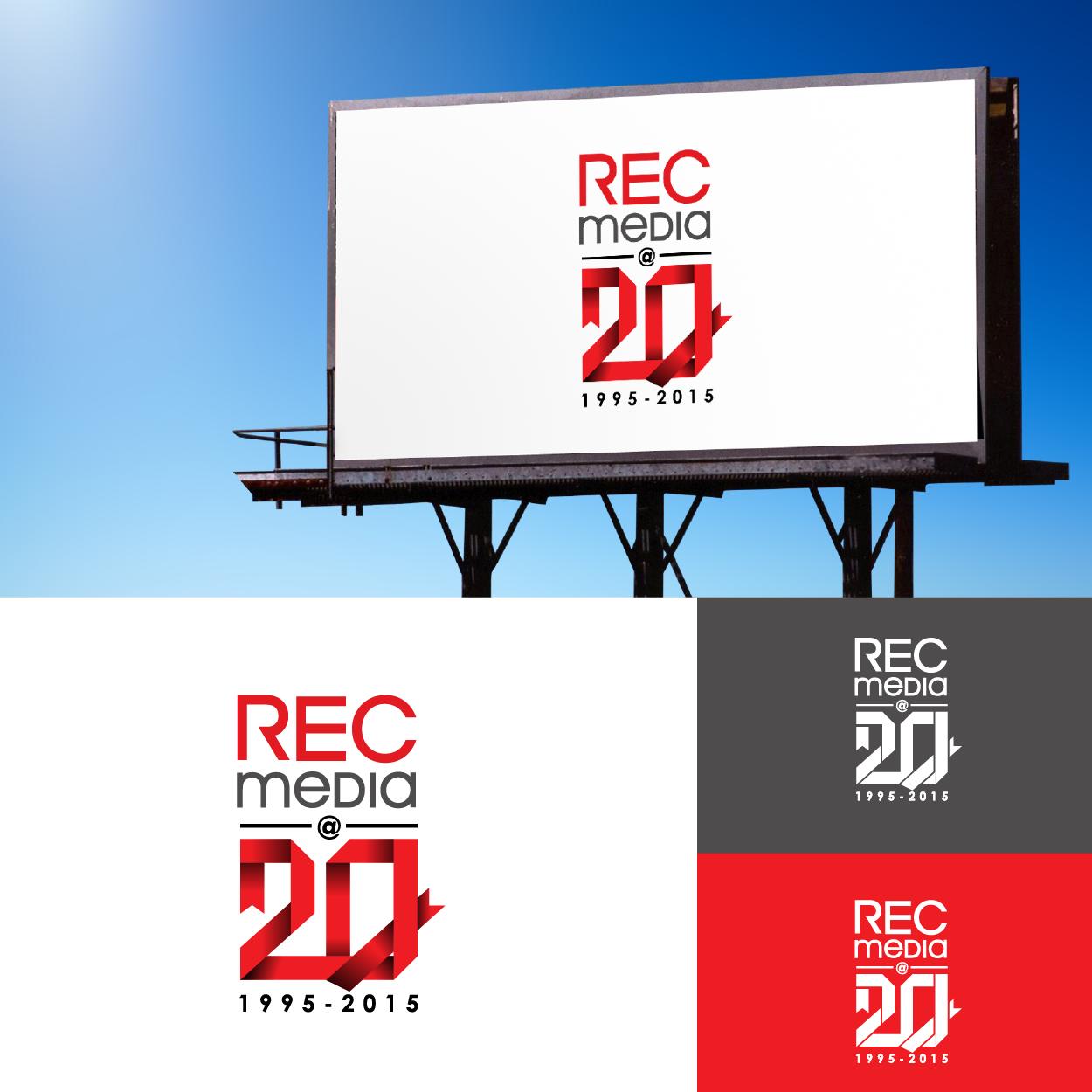 Logo Design by Josephope Sardalla - Entry No. 48 in the Logo Design Contest REC Media Logo Design.