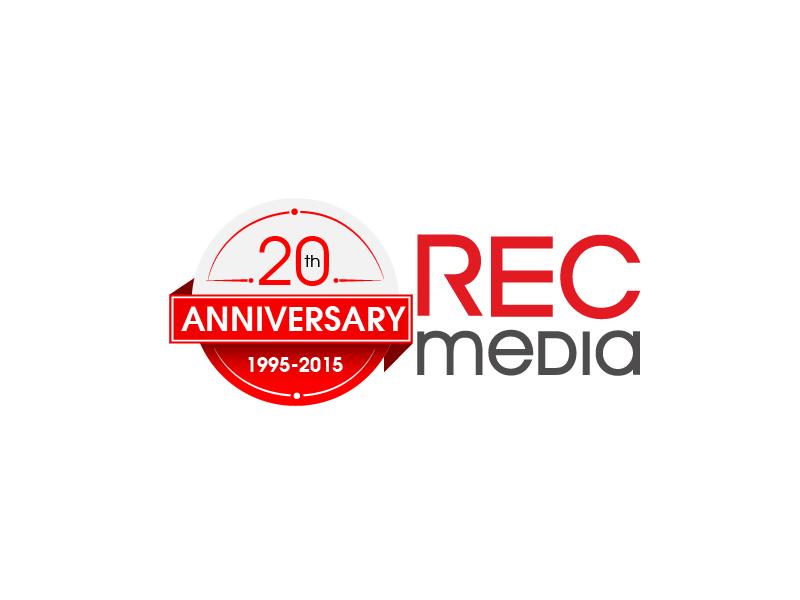 Logo Design by brands_in - Entry No. 50 in the Logo Design Contest REC Media Logo Design.