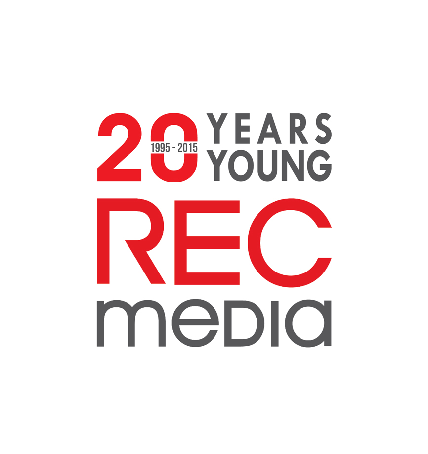 Logo Design by RasYa Muhammad Athaya - Entry No. 53 in the Logo Design Contest REC Media Logo Design.