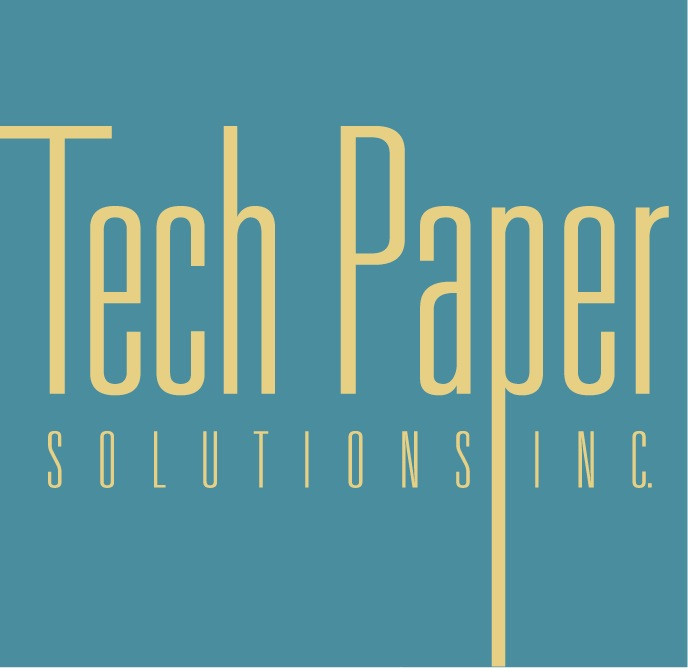 Logo Design by Walid Freih - Entry No. 4 in the Logo Design Contest Imaginative Logo Design for TechPaper Solutions Inc..