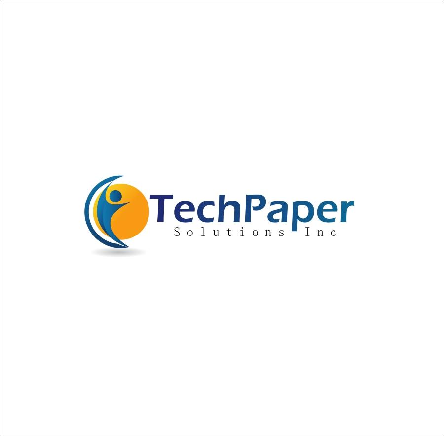 Logo Design by Private User - Entry No. 5 in the Logo Design Contest Imaginative Logo Design for TechPaper Solutions Inc..