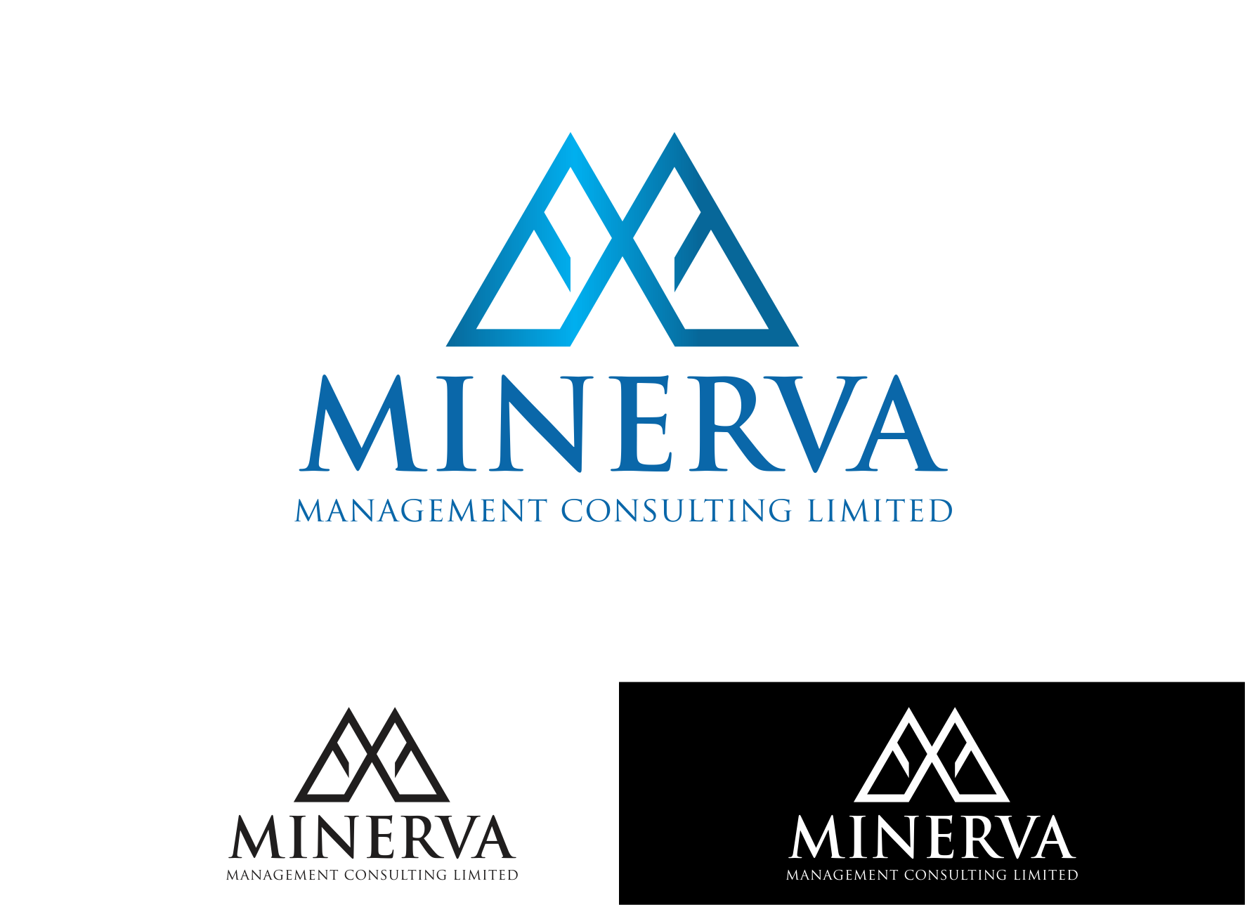 Logo Design by Private User - Entry No. 17 in the Logo Design Contest Logo Design for Minerva Management Consulting Limited.