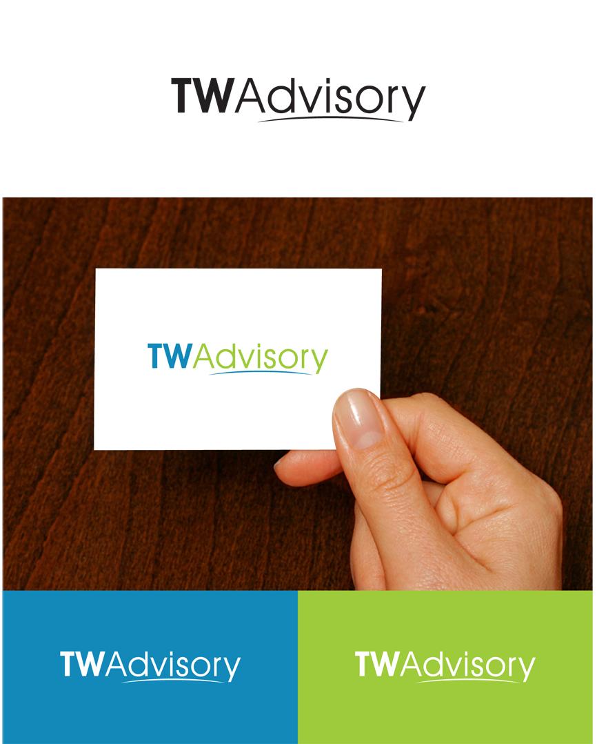 Logo Design by RasYa Muhammad Athaya - Entry No. 46 in the Logo Design Contest Imaginative Logo Design for Total Wealth Advisory (TW Advisory).