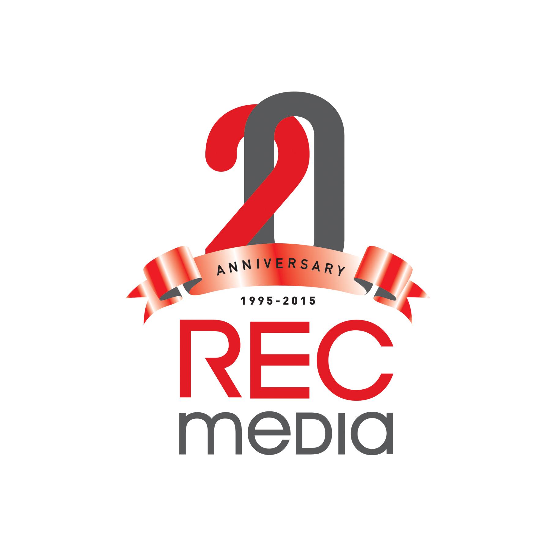 Logo Design by DAMIR JAHIC - Entry No. 75 in the Logo Design Contest REC Media Logo Design.