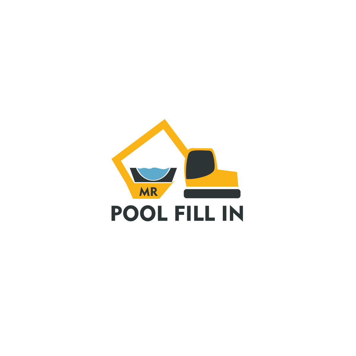 Logo Design by moisesf - Entry No. 31 in the Logo Design Contest Unique Logo Design Wanted for Mr. Pool Fill In.