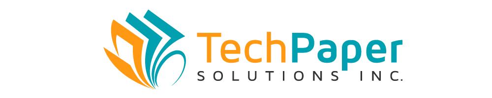 Logo Design by rockin - Entry No. 20 in the Logo Design Contest Imaginative Logo Design for TechPaper Solutions Inc..