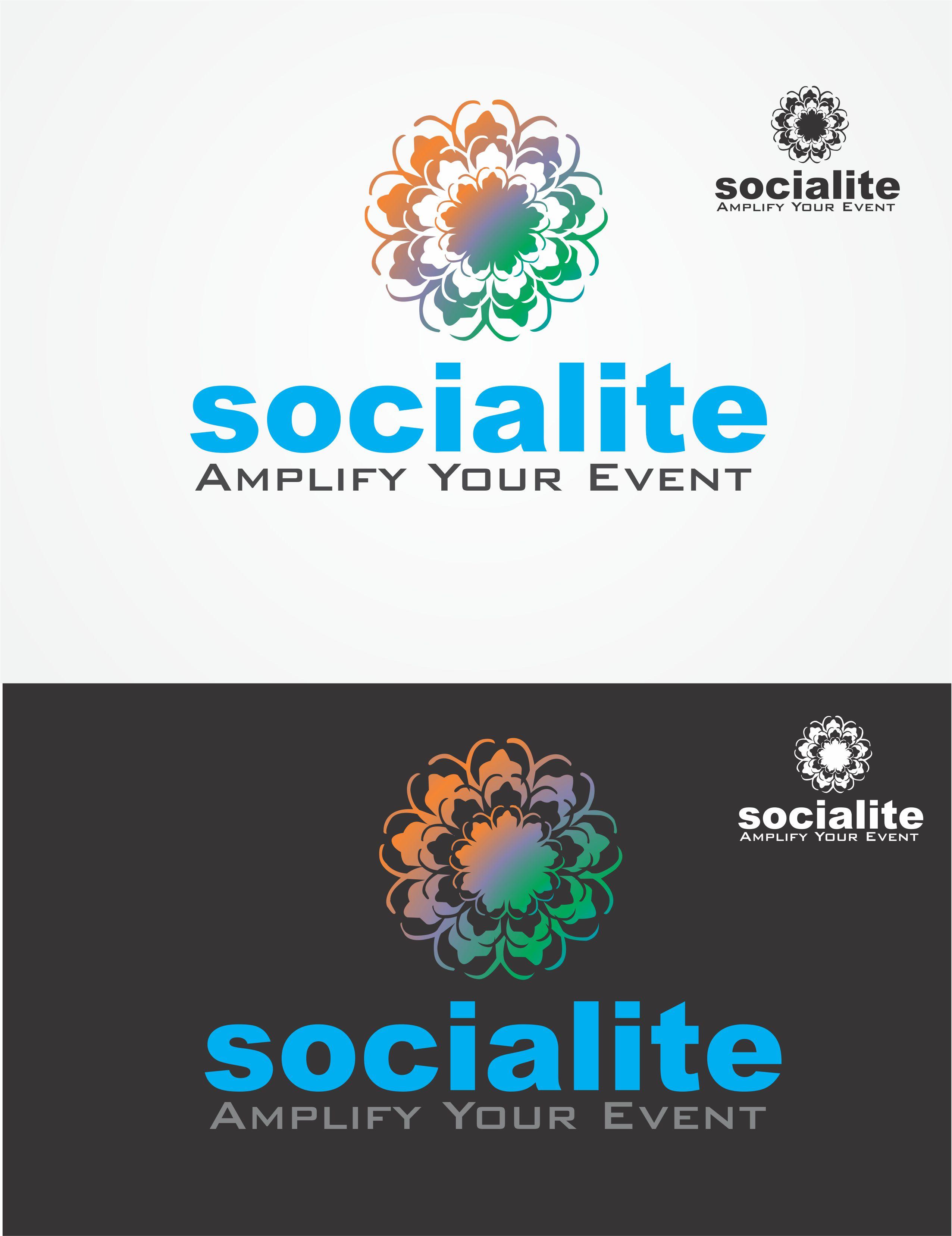 Logo Design by Vallabh Vinerkar - Entry No. 3 in the Logo Design Contest Unique Logo Design Wanted for Socialite.