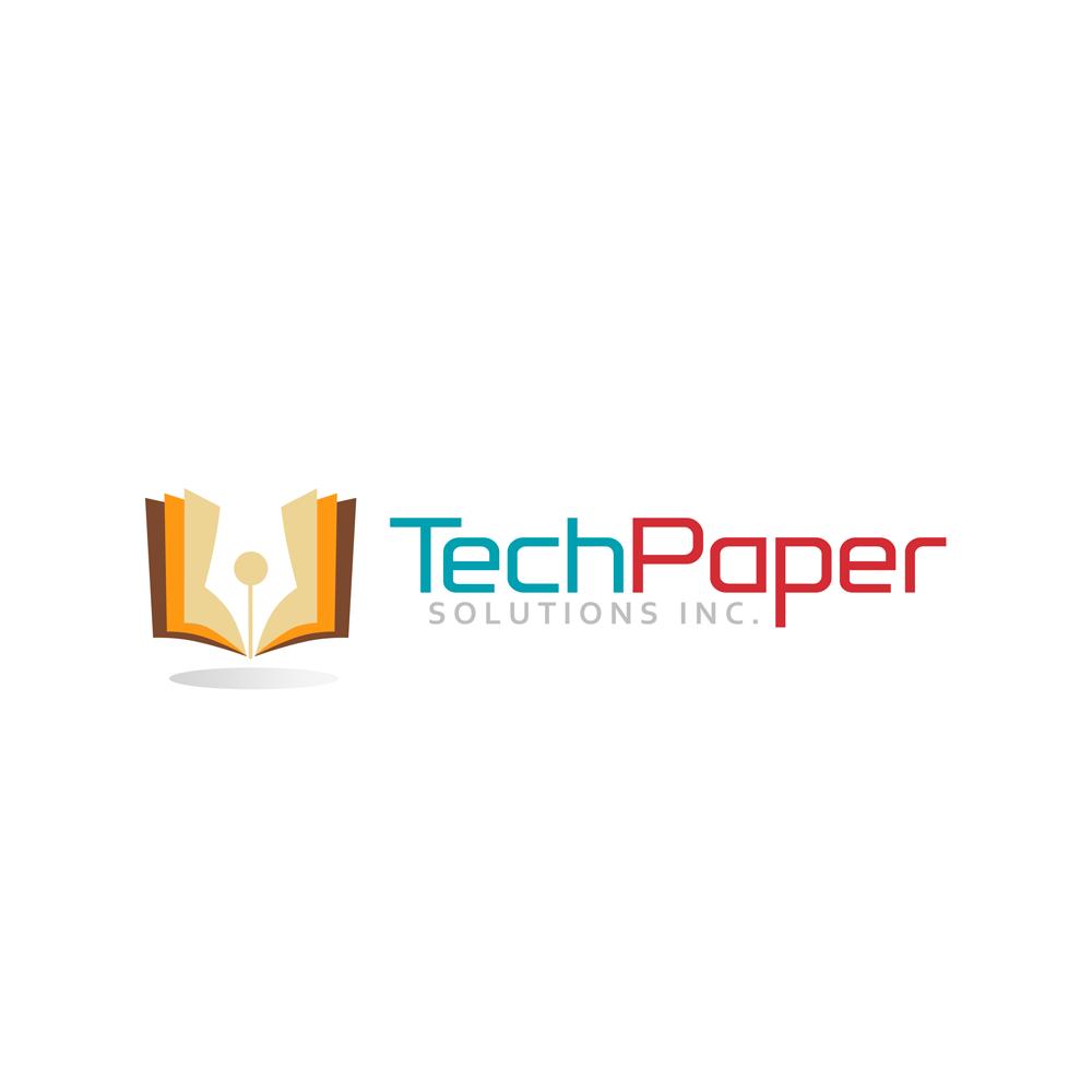 Logo Design by Private User - Entry No. 34 in the Logo Design Contest Imaginative Logo Design for TechPaper Solutions Inc..