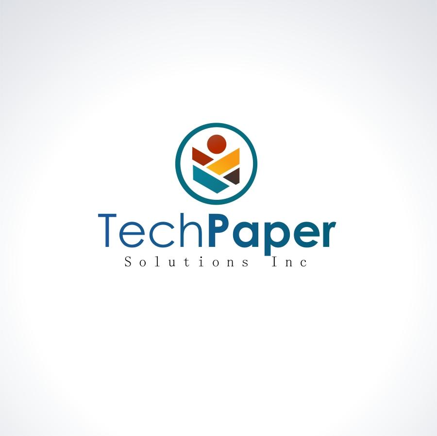 Logo Design by Private User - Entry No. 44 in the Logo Design Contest Imaginative Logo Design for TechPaper Solutions Inc..
