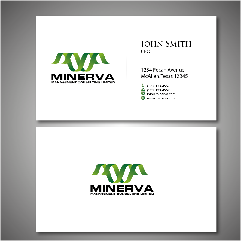 Logo Design by roc - Entry No. 63 in the Logo Design Contest Logo Design for Minerva Management Consulting Limited.