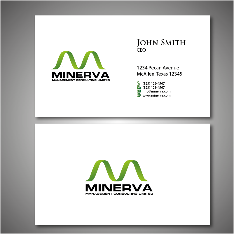 Logo Design by roc - Entry No. 64 in the Logo Design Contest Logo Design for Minerva Management Consulting Limited.