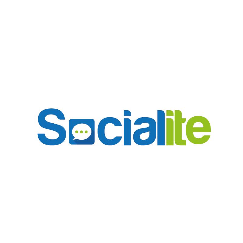 Logo Design by roc - Entry No. 86 in the Logo Design Contest Unique Logo Design Wanted for Socialite.