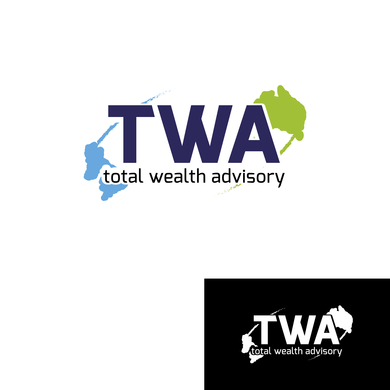 Logo Design by Fran14 - Entry No. 97 in the Logo Design Contest Imaginative Logo Design for Total Wealth Advisory (TW Advisory).
