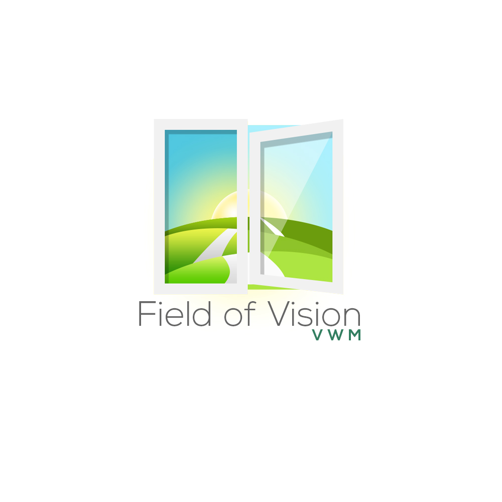 Logo Design by Kenneth Joel - Entry No. 9 in the Logo Design Contest Field of Vision - VWM Logo Design.
