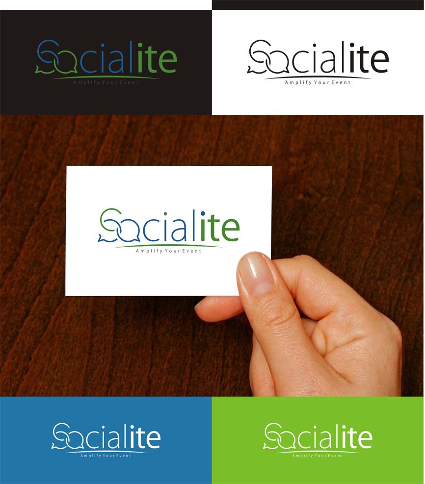 Logo Design by RasYa Muhammad Athaya - Entry No. 124 in the Logo Design Contest Unique Logo Design Wanted for Socialite.