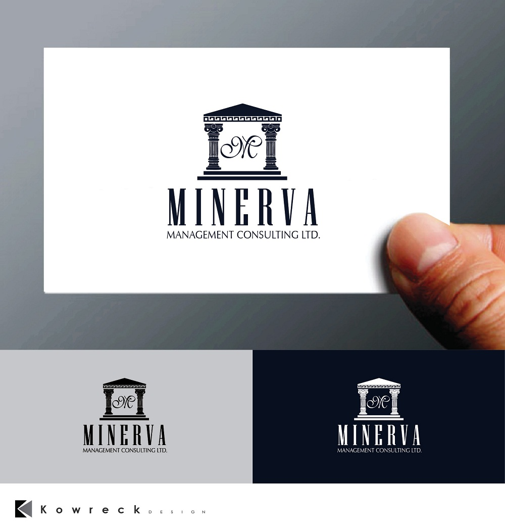 Logo Design by kowreck - Entry No. 81 in the Logo Design Contest Logo Design for Minerva Management Consulting Limited.