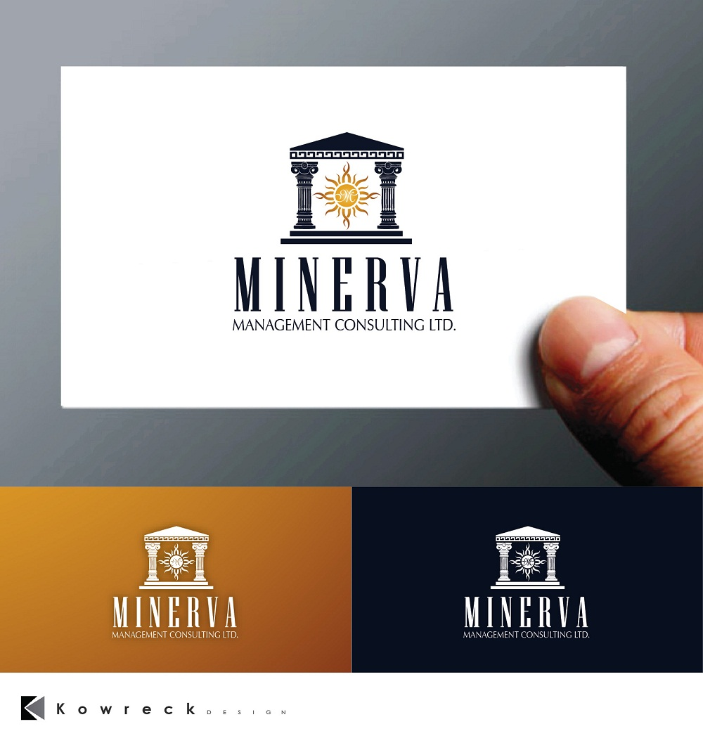 Logo Design by kowreck - Entry No. 82 in the Logo Design Contest Logo Design for Minerva Management Consulting Limited.