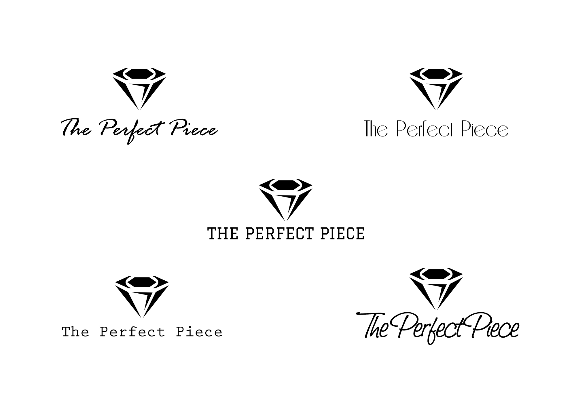 Logo Design by Brix Estanilla - Entry No. 29 in the Logo Design Contest Unique Logo Design Wanted for The Perfect Piece.