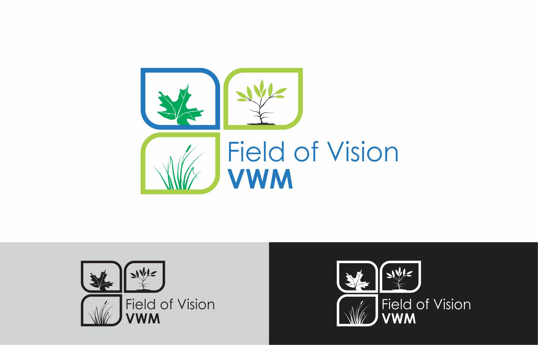 Logo Design by Private User - Entry No. 23 in the Logo Design Contest Field of Vision - VWM Logo Design.