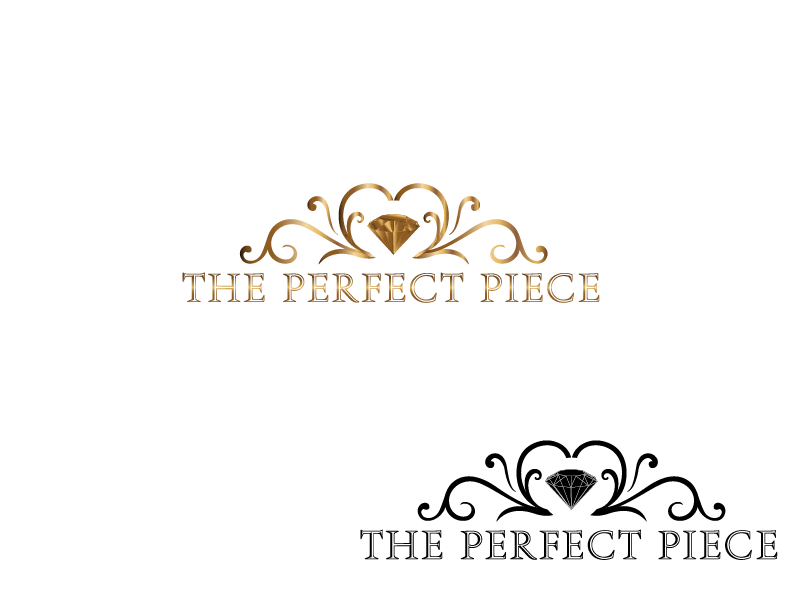 Logo Design by Private User - Entry No. 47 in the Logo Design Contest Unique Logo Design Wanted for The Perfect Piece.